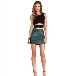 Lovers + Friends Good to Be Bad Mini Skirt